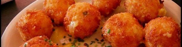 crochete din cartofi cu cascaval